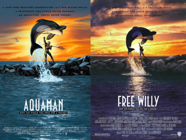 Your Favorite DC Characters Are Getting Turned In To Movie Posters