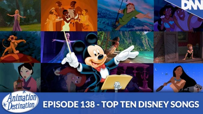 Top Ten Disney Songs