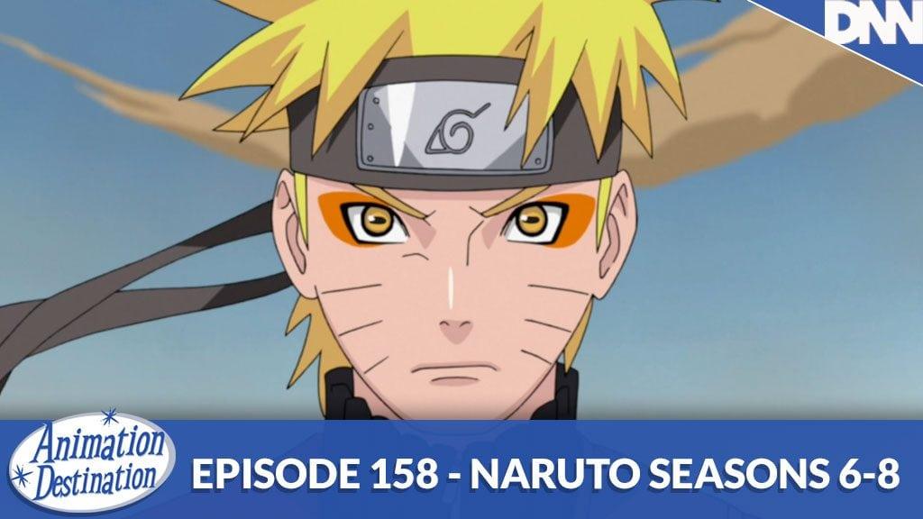 Naruto Shippuden: Seasons 6-8