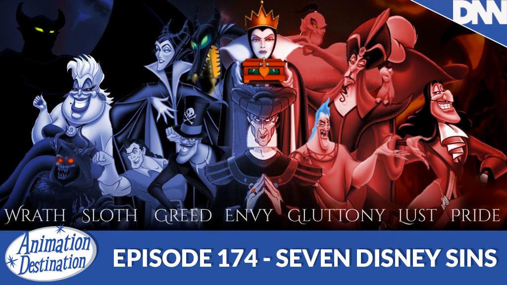 Seven Disney Sins