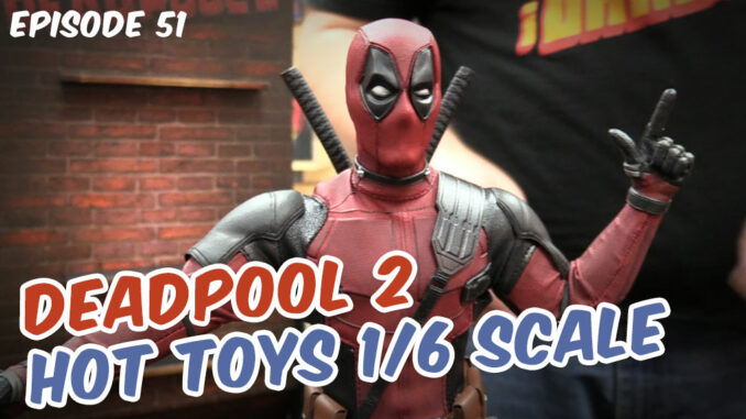 Deadpool 2 figure with finger-guns