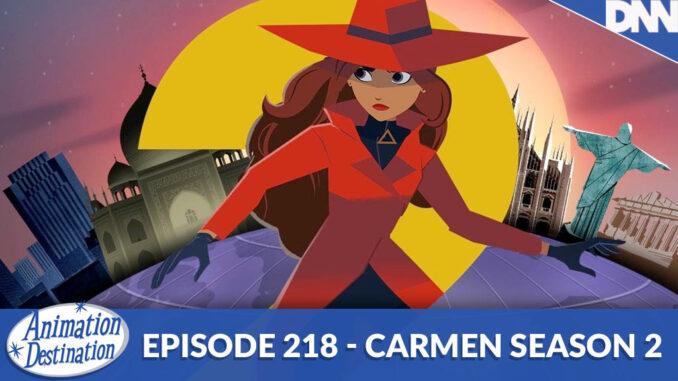 carmen season 2 title card